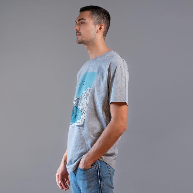 STG Bluffers Park Tee - Heather Grey