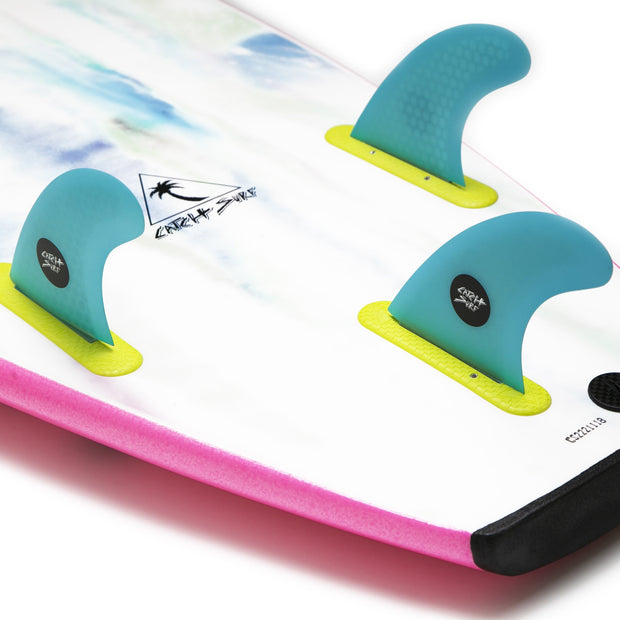 Catch Surf Honeycomb Hi-Perf Tri Fin Set