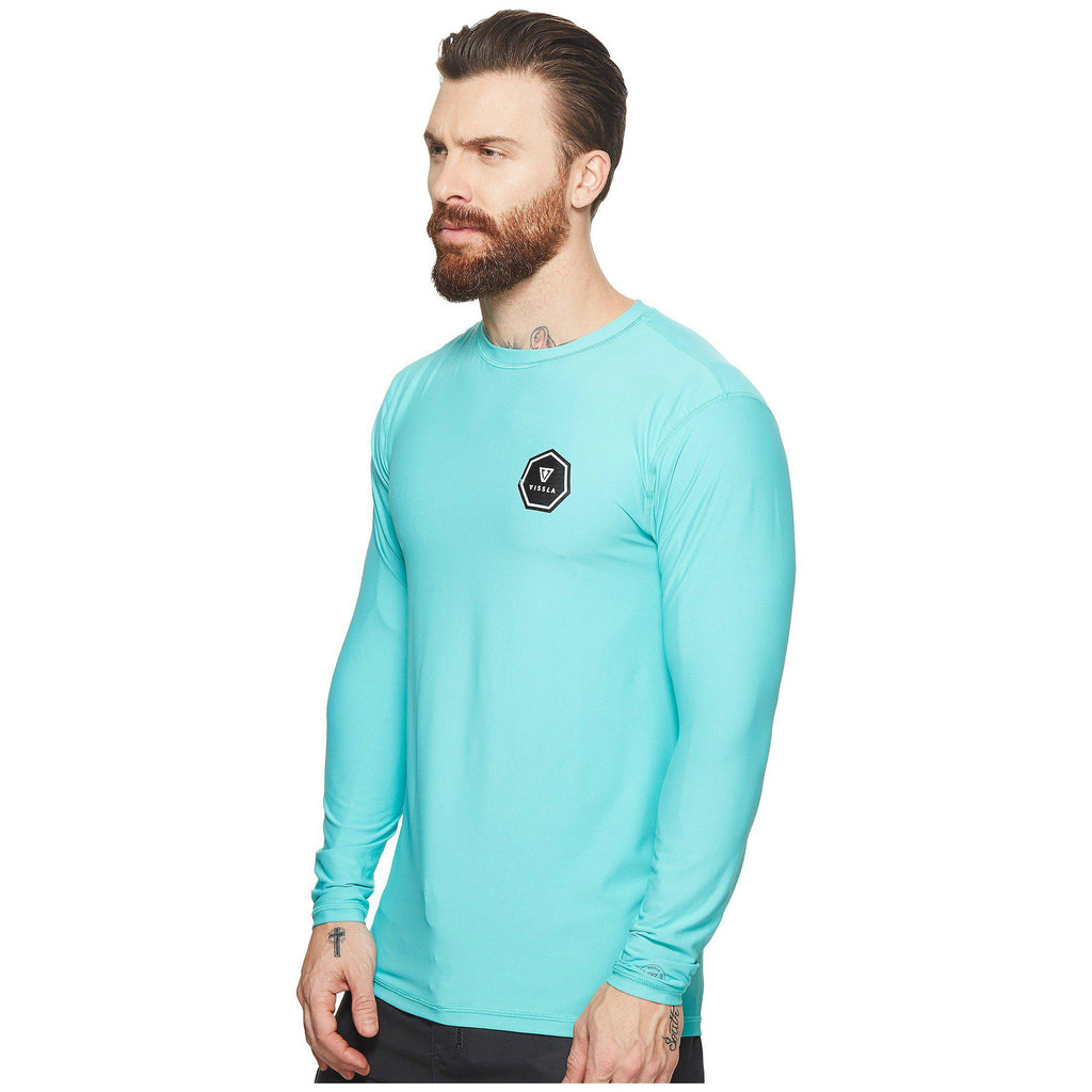 Vissla Everyday L/S Rash Guard - Teal