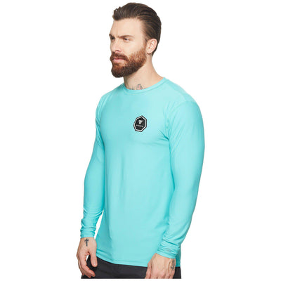 Vissla Everyday L/S Rash Guard - Jade