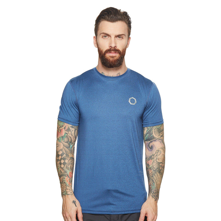 Vissla Drainer Surf Tee - Marine Heather