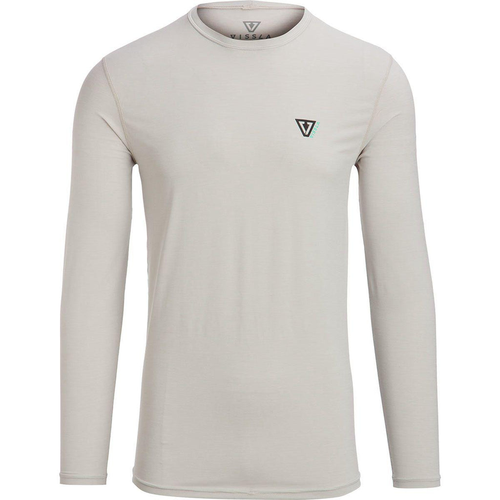 Vissla Everyday L/S Rash Guard - White