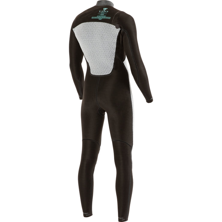 Vissla 7 Seas Gadoo 3/2 Chest Zip Wetsuit - Black