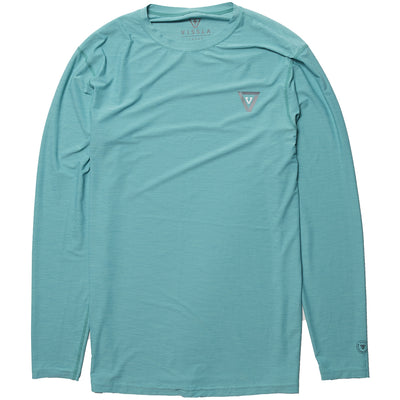 Vissla Twisted LS Surf Tee - Jade Heather