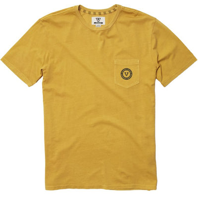 Vissla Rootsy Pocket Tee - Golden Hour