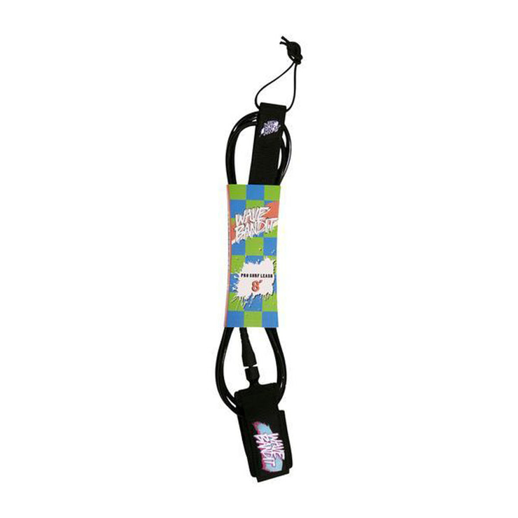 Catch Surf Wave Bandit 8' Leash - Black