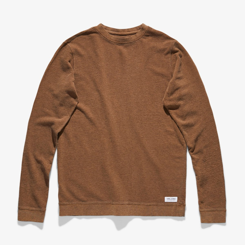 Banks Journal - Vision Fleece - Burnt Khaki