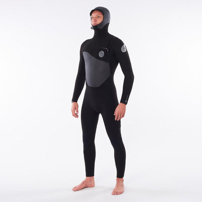 Rip Curl Flashbomb 5/4 Hooded Wetsuit - Chest Zip