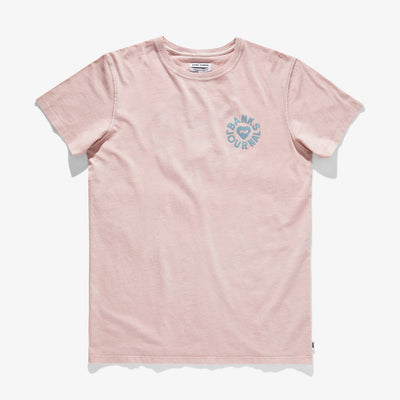 Banks Journal Heart Rings T-Shirt - Dusty Rose