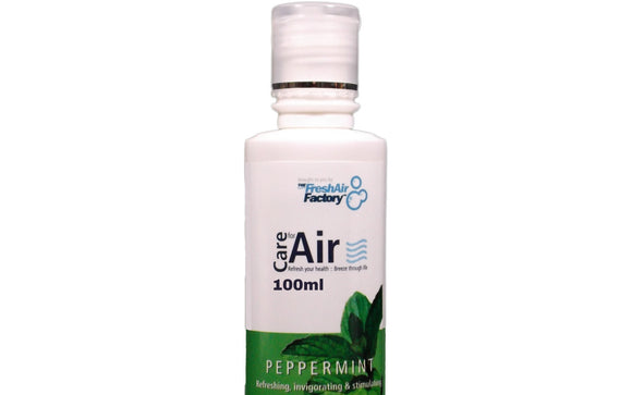 CareforAir Peppermint Aromatherapeutic Essence For Air Purifiers (100ml) - 1stVitality UK
