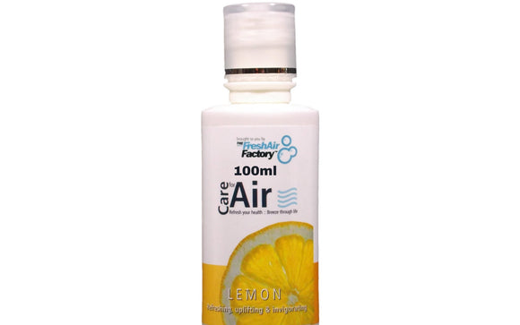 CareforAir Lemon Aromatherapeutic Essence for Air Purifiers (100ml) - 1stVitality UK