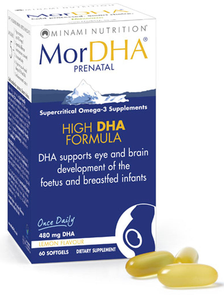 MorDHA Prenatal - Highest DHA Formula by Minami Nutrition