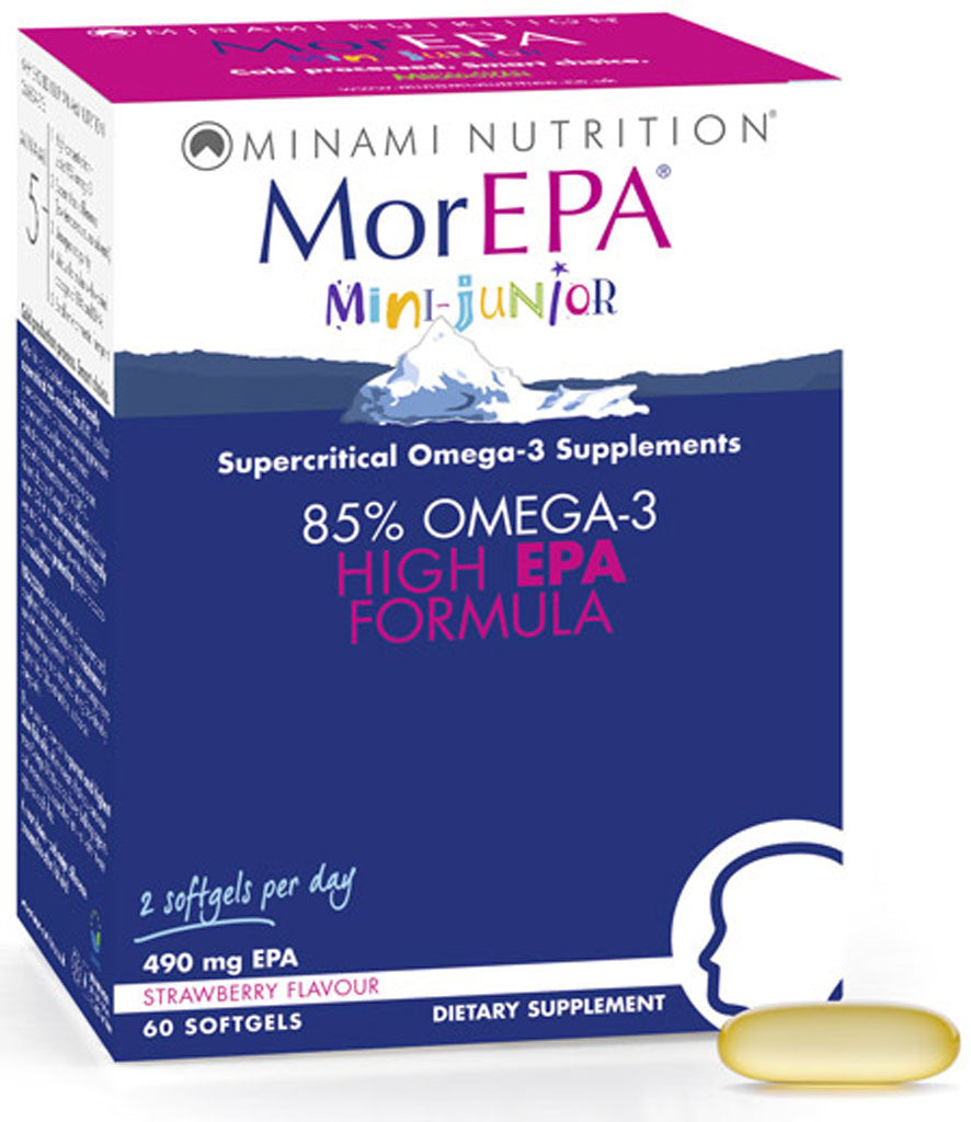 MorEPA Mini Junior - High EPA Formula for Children by Minami Nutirtion