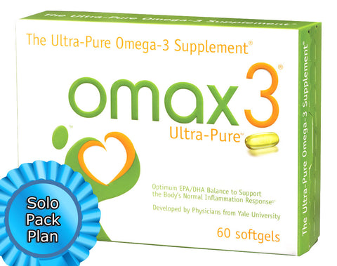 Omax3 97% Ultra Pure Solo Pack Subscription Plan (60 Soft Gel Capsules)
