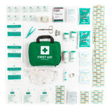 90 Piece Premium First Aid Kit Bag - 1stVitality UK