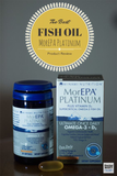 MorEPA Platinum Fish Oil 90% OMEGA-3 Plus Vitamin D . Discounts Available - 1stVitality UK