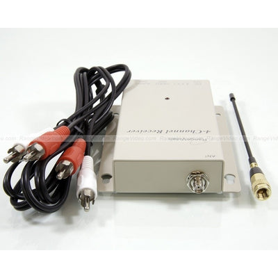 1.3GHz audio/video receiver with Comtech RF module (4 channel)