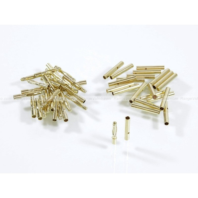 2.0 mm Gold Plated Bullet Connectors (10 pairs)