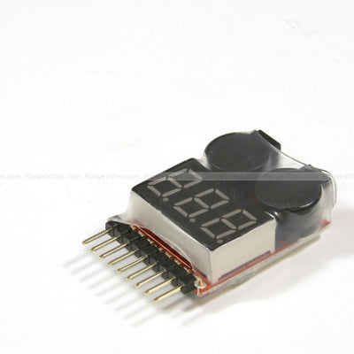 Lipo Battery Voltage Tester & 2-8S Low Voltage Buzzer