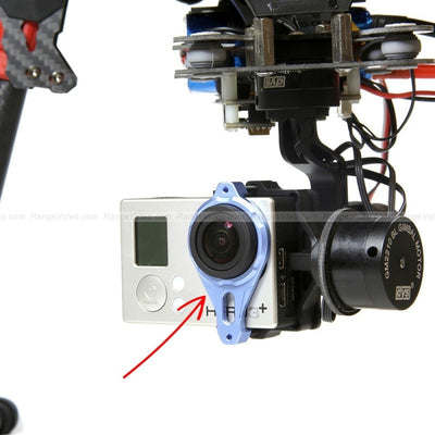 Tarot GoPro brushless gimbal camera frame assembly