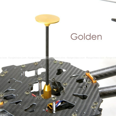 Universal GPS folding antenna base