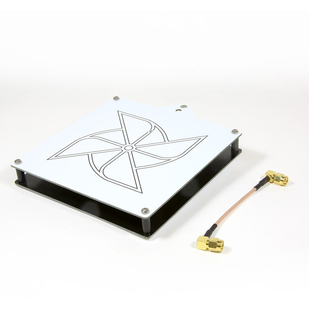 1.2GHz Circular Wireless Patch Antenna 8.6dBi