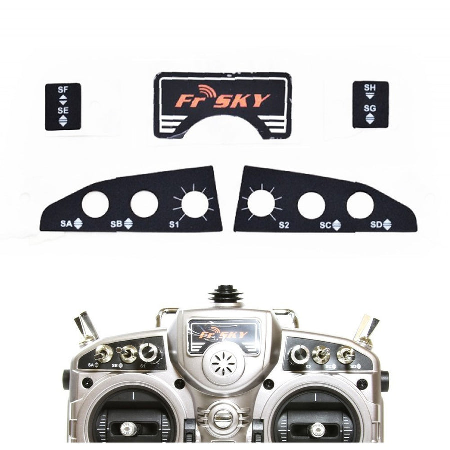 FrSky Taranis Sticker Set