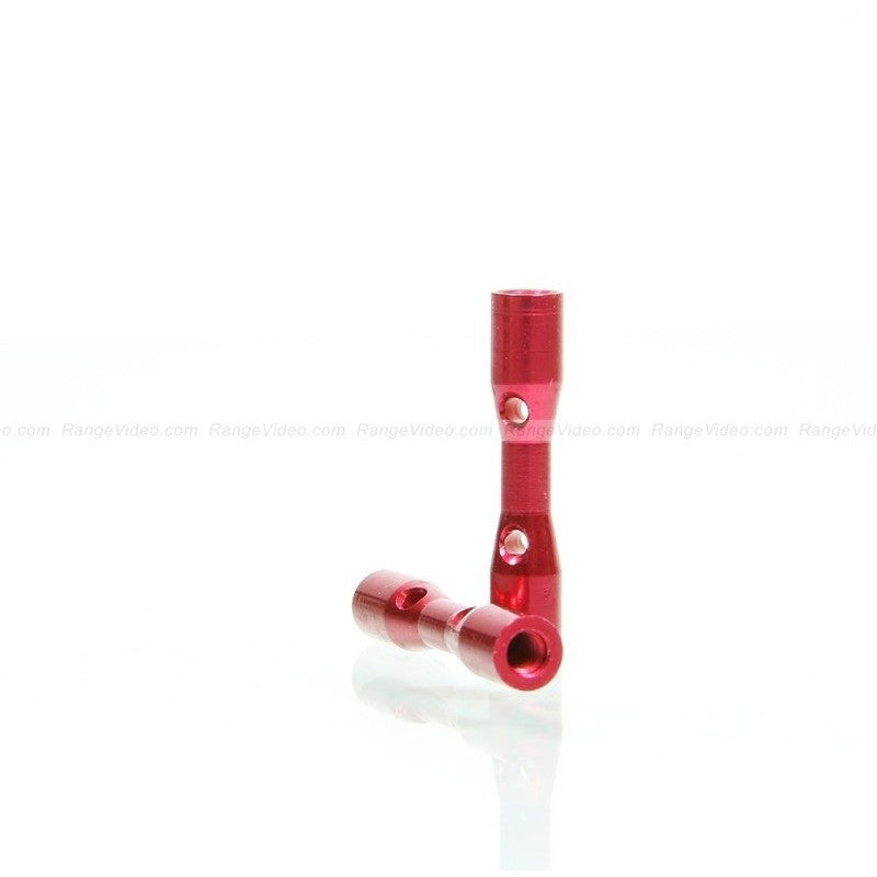 M3 x 0.5 x 25mm Female-Female Standoff  - red (2pcs/set)