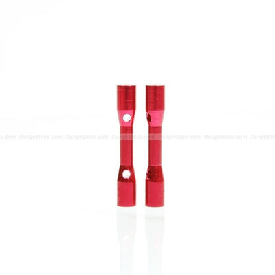 HQ 4.5mm Round Female-Female Standoff M3x0.5x30mm - red (2pcs/set)