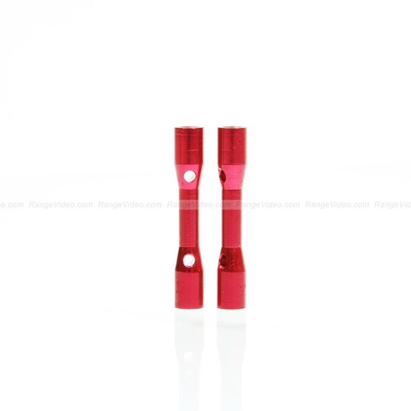 M3 x 0.5 x 30mm Female-Female Standoff  - red (2pcs/set)