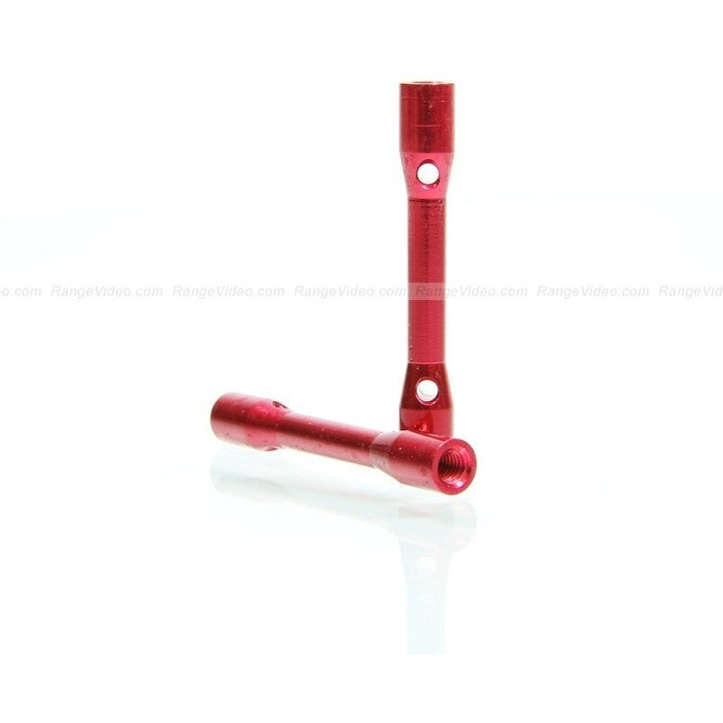 M3 x 0.5 x 35mm Female-Female Standoff  - red (2pcs/set)