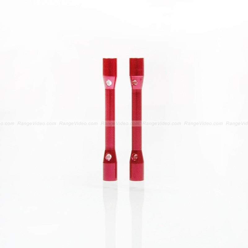 M3 x 0.5 x 40mm Female-Female Standoff  - red (2pcs/set)