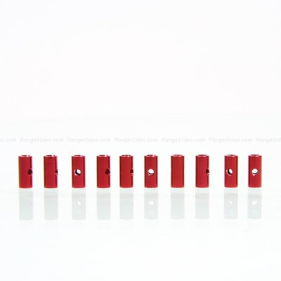 HQ 4.5mm Round Female-Female Standoff M3x0.5x10mm - red (10pcs/set)