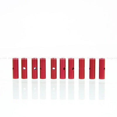 HQ 4.5mm Round Female-Female Standoff M3x0.5x15mm - red (10pcs/set)