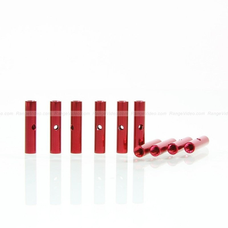 HQ 4.5mm Round Female-Female Standoff M3x0.5x20mm - red (10pcs/set)