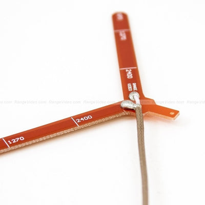 1.3GHz Vee antenna