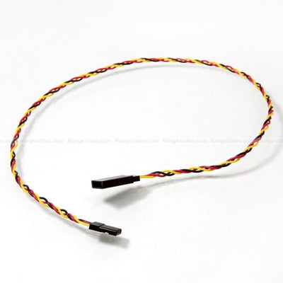 RV Universal Servo Extension Cable JR male-Futaba female (400mm)