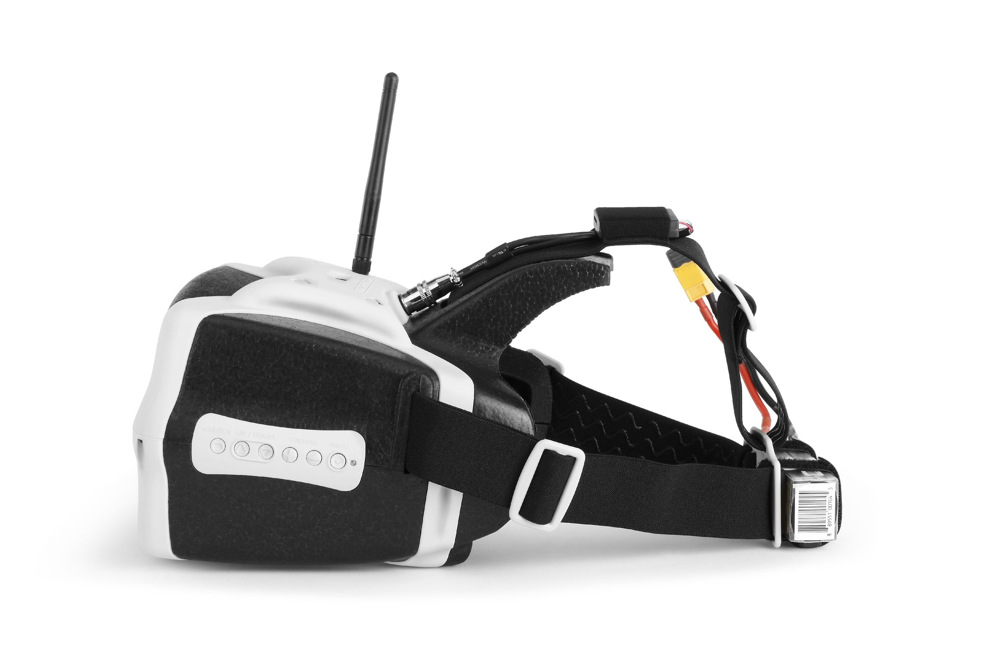 Headplay Head Mounted Display 1024 x 600 px with 5.8GHz receiver and HDMI input