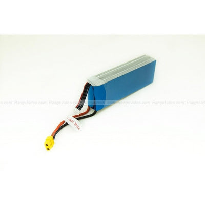 6100mAh 14.8V 2C 4S1P LiPo battery pack high energy density