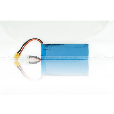 6100mAh 11.1V 2C 3S1P LiPo battery pack High energy density