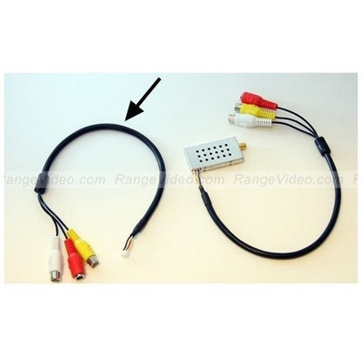 RCA wire harness for a/v transmitters