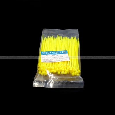 Self-locking Nylon Cable Zip Tie 2.5x100mm (100pcs/set)