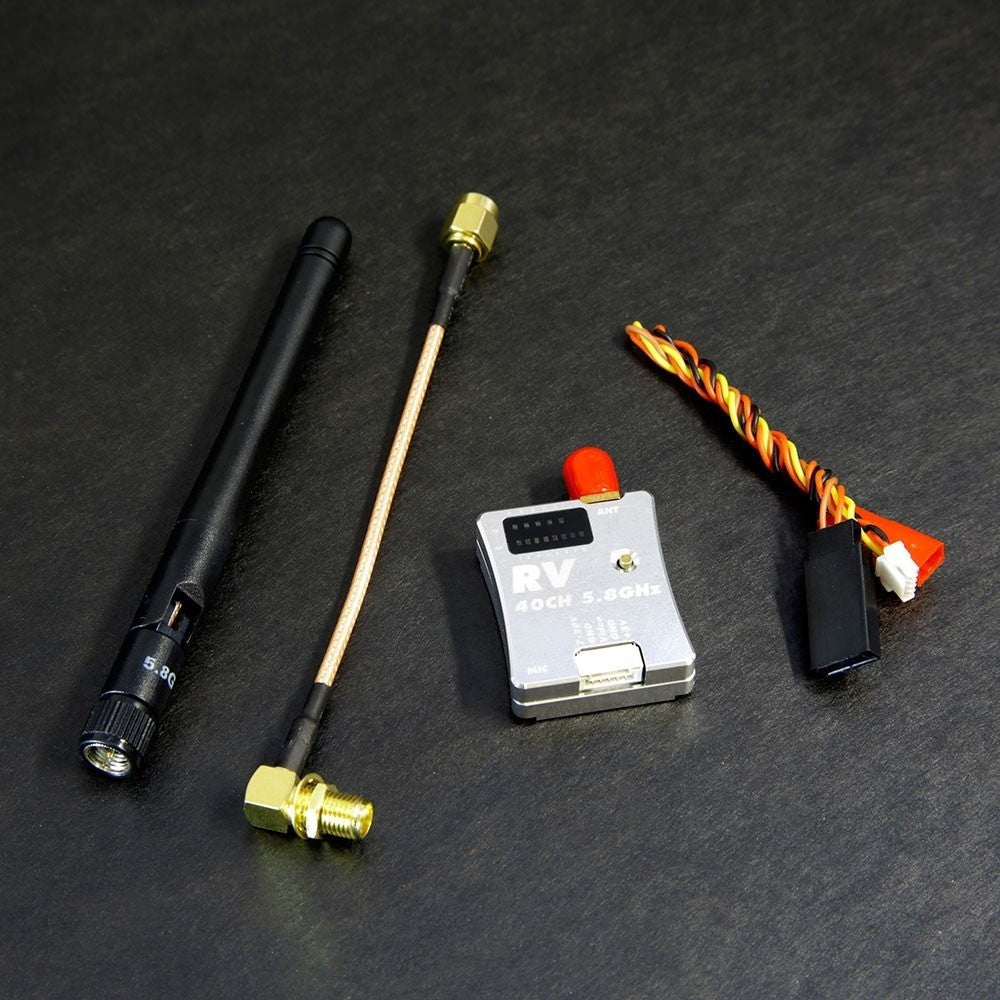 5.8 GHz 600mW wireless video  transmitter with microphone and aluminum case