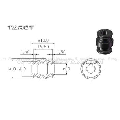 TL100A19- Tarot gimbal shock ball black