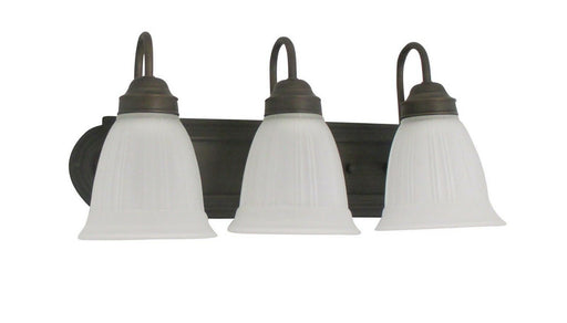 Epiphany Lighting ESVA046-ORB-252 Three Light LED GU24 Bath Wall Fixture in Oil Rubbed Bronze Finish