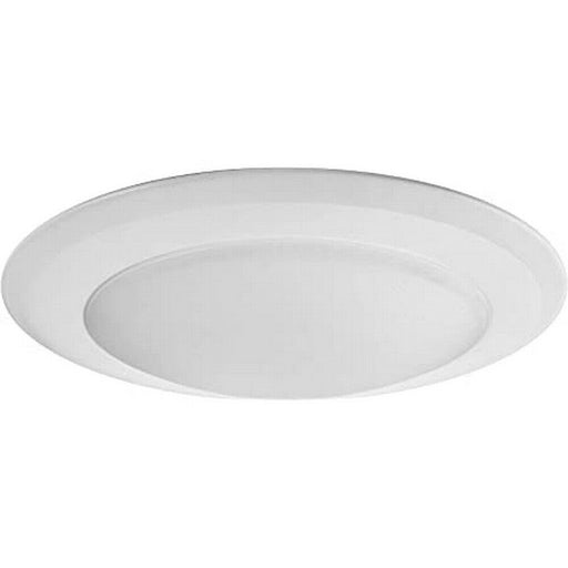 Nora NLOP-R650927AW Integrated LED Flush Surface Ceiling Disk Light in White Finish