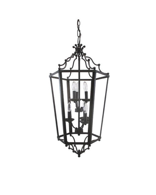 Epiphany Lighting 102273 ORB Eight Light Pendant Chandelier in Oil Rubbed Bronze Finish - Quality Discount Lighting