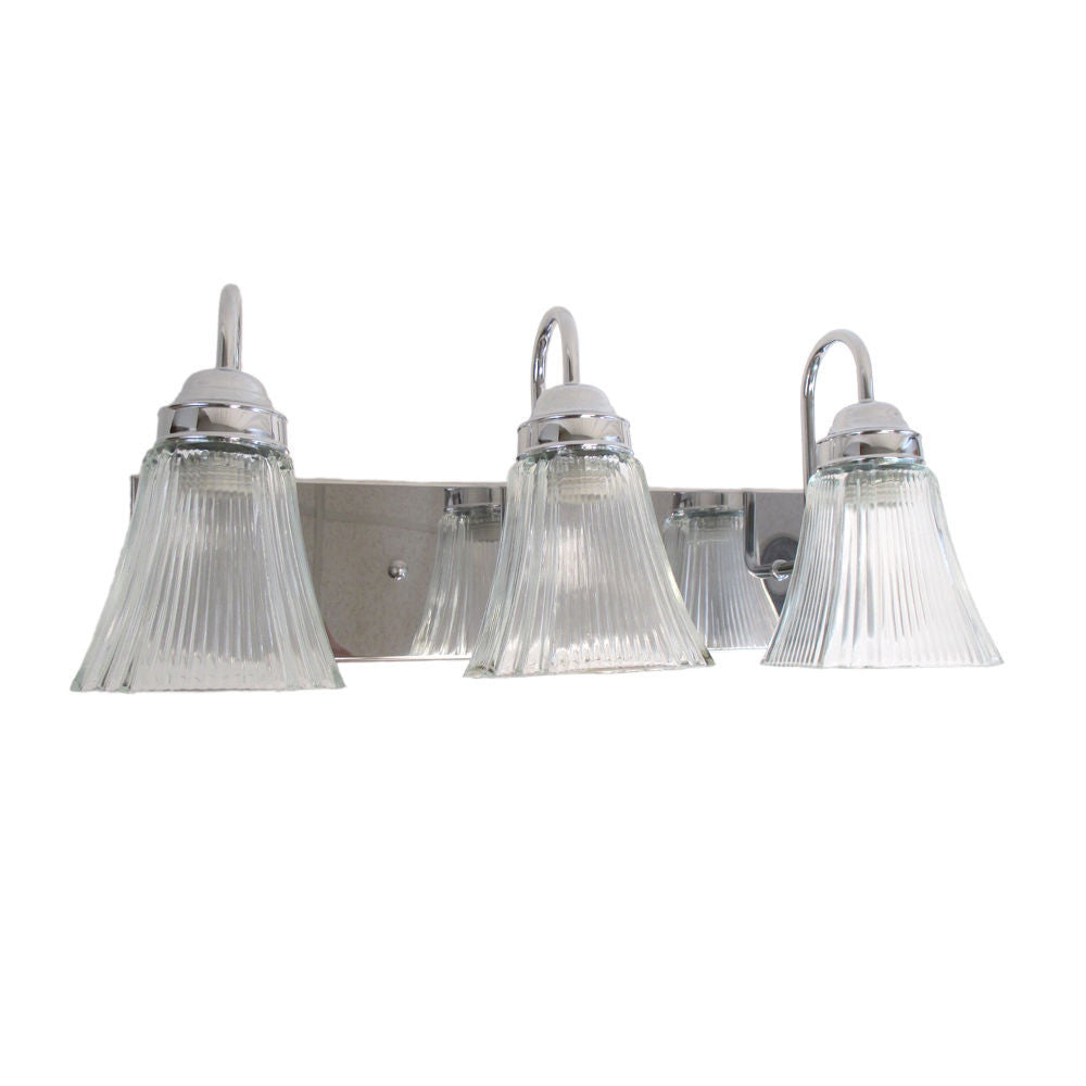 epiphany lighting 106085 ch 105260 three light bath wall fixture in