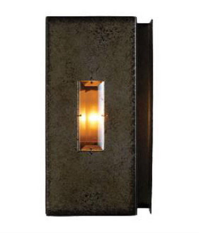 Kalco Lighting 2625 SV Manchester Collection One Light Wall Sconce in Aged Silver Finish - Quality Discount Lighting