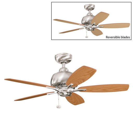 Kichler Lighting 300123 BSS Richland Collection Ceiling Fan in Brushed Stainless Steel Finish - Quality Discount Lighting